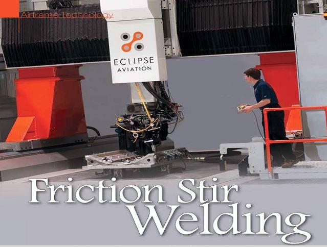جوشکاری اصطکاکی یا Friction Stir Welding