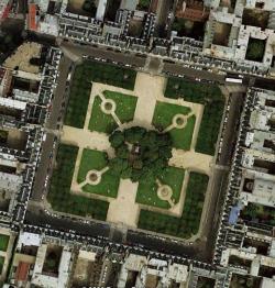 پاورپوینت میدان های شهری